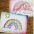 A4 rainbow
